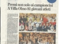 Festa dello sport - La Provincia - 5-12-2014